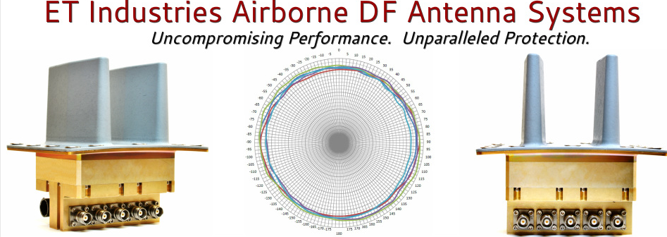 ET Industries Airborne DF Antenna Systems Article Banner